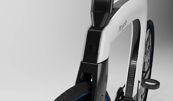 NCycle, a skinny concept foldable electric bike