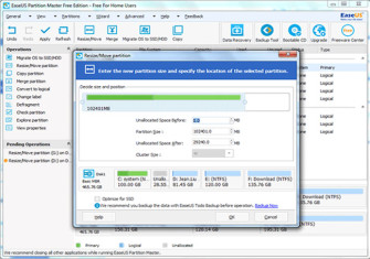 Do anything with a Hard Drive using EaseUS Partition Master